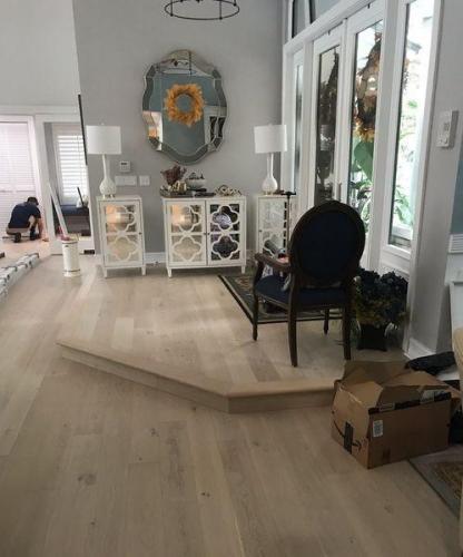 Custom Real Wood Flooring