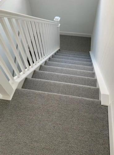 Neutral Tone Staircase