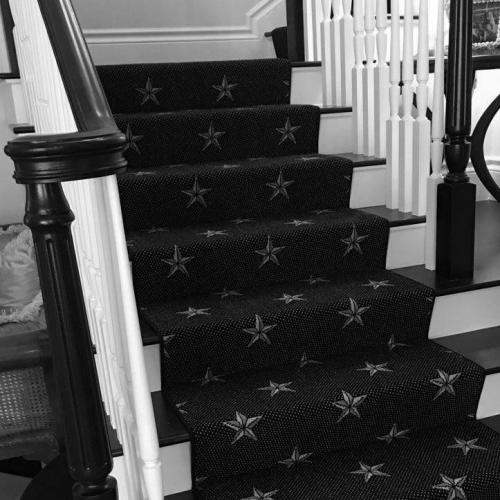 Perfect Carpet for Dark Staircase